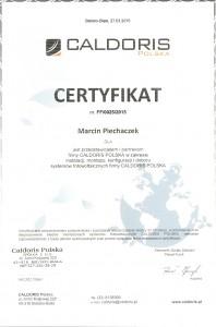 certyfikat caldoris