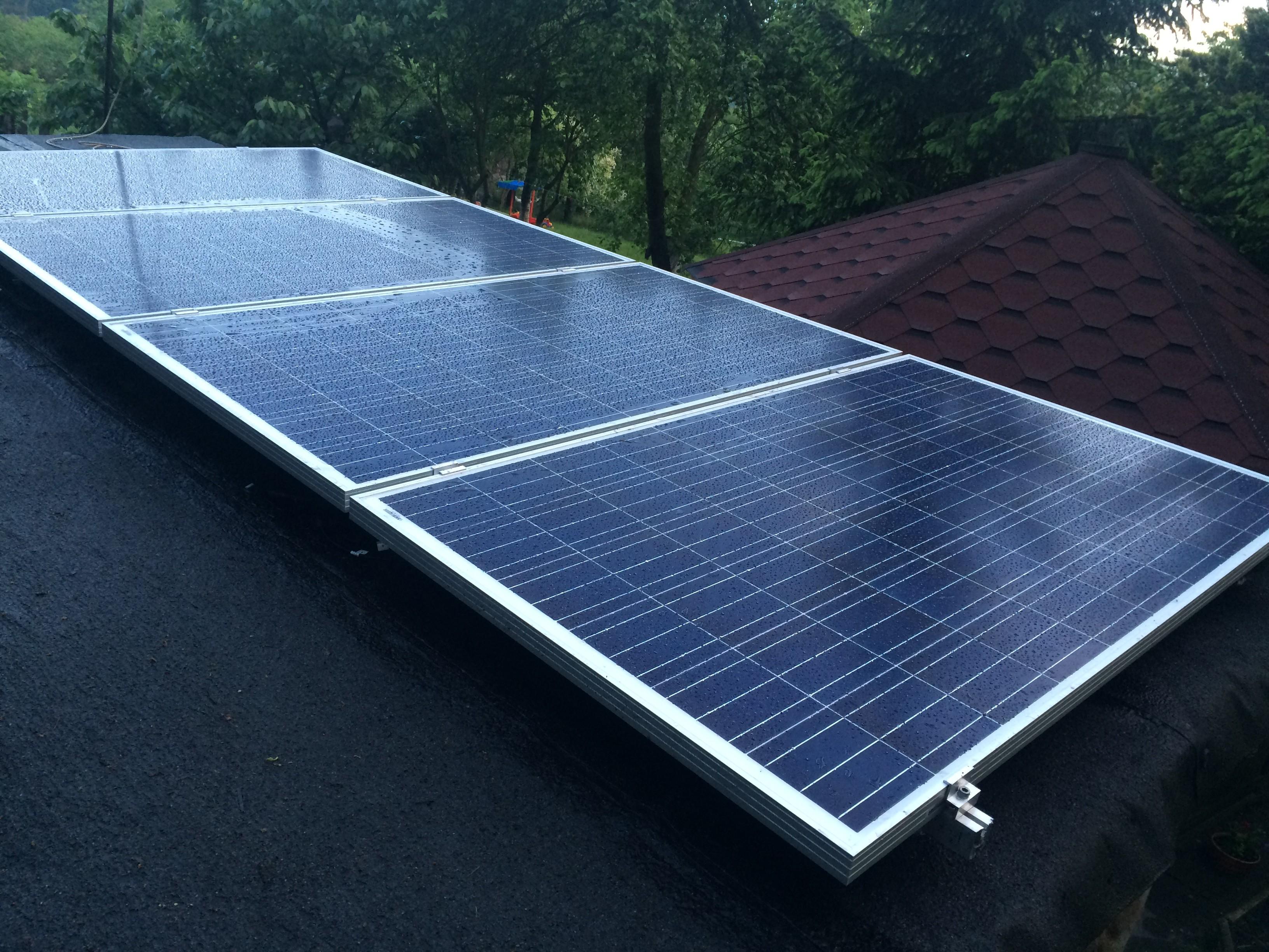 Zabrze - Moc 1 kWp Off-grid