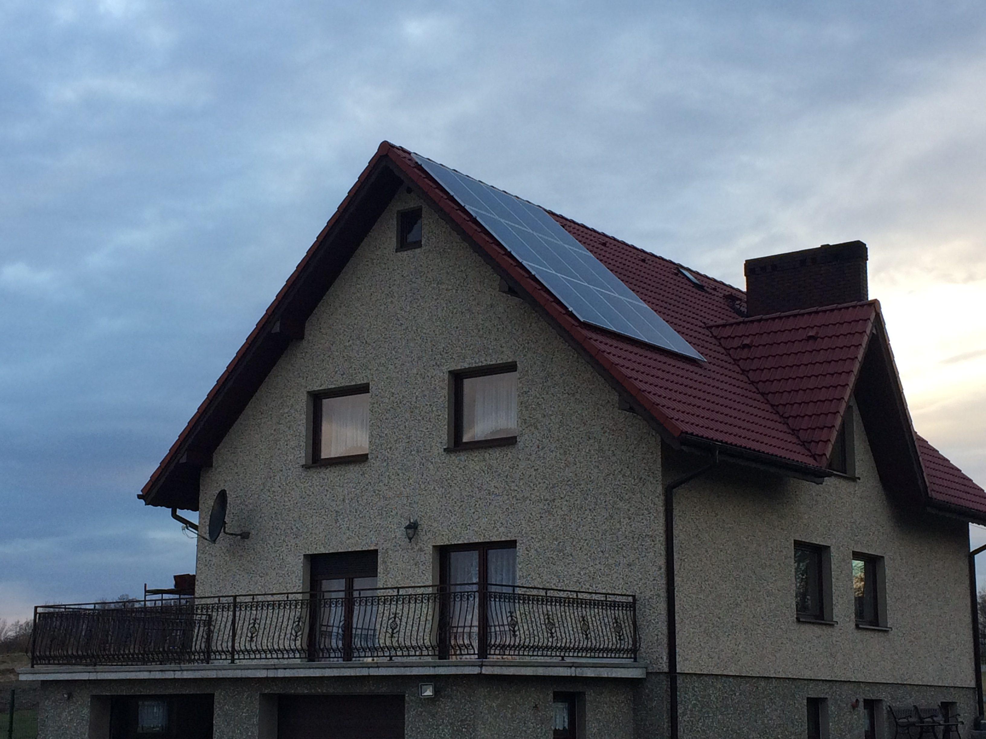 Gołkowice - Moc 6,48 kWp On-grid