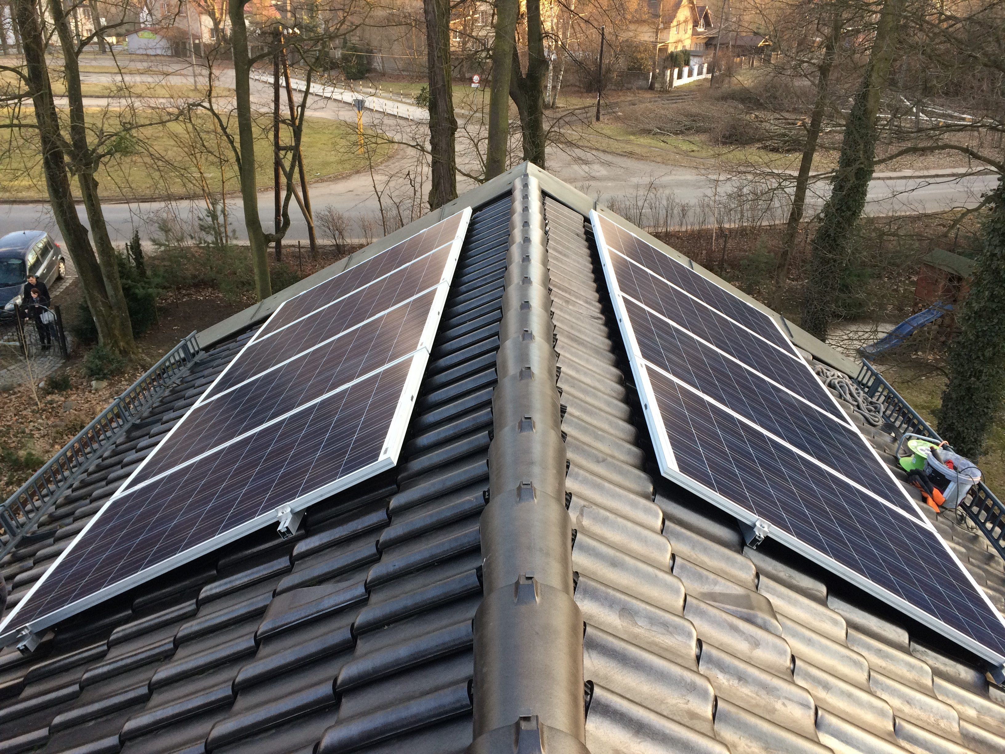 Rybnik - Moc 2,08 kWp Off-grid